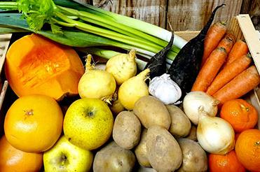 panier de fruits et légumes de Nicolas Durand