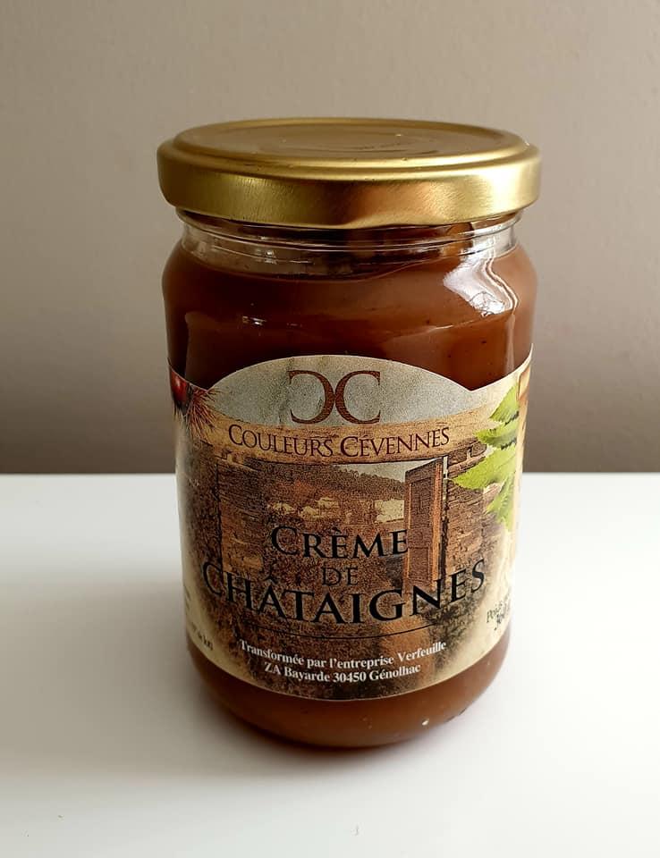 Produits locaux Nicolas Durand crème de châtaigne