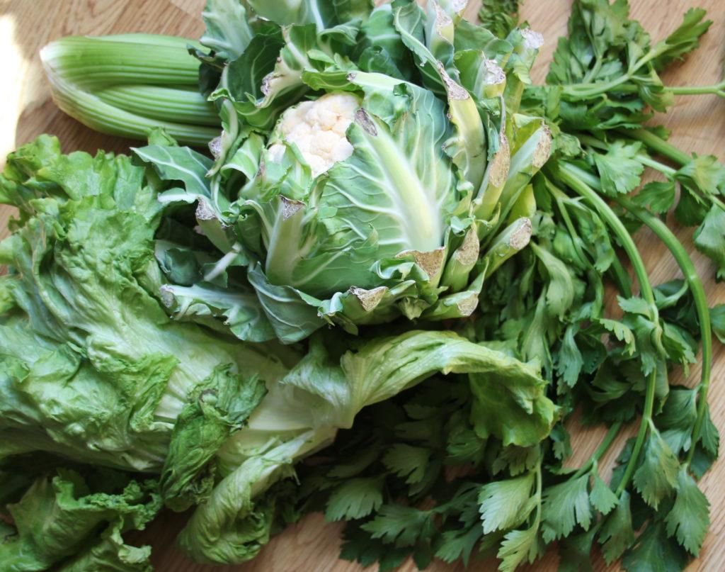 Consommer des légumes défraîchis