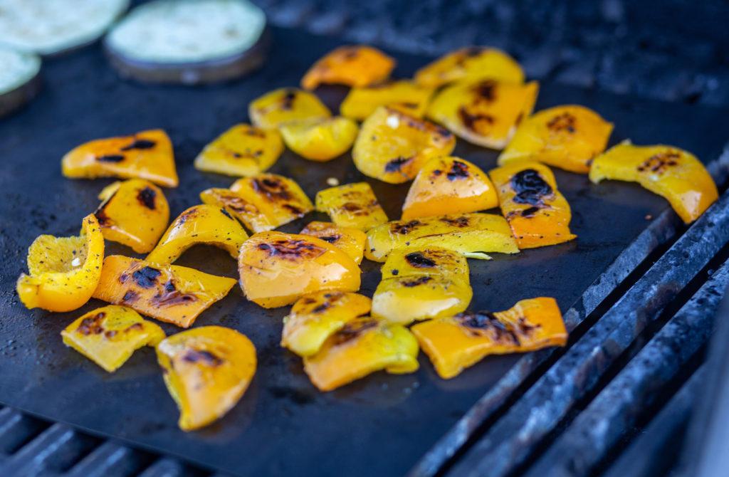 Griller les légumes flétris