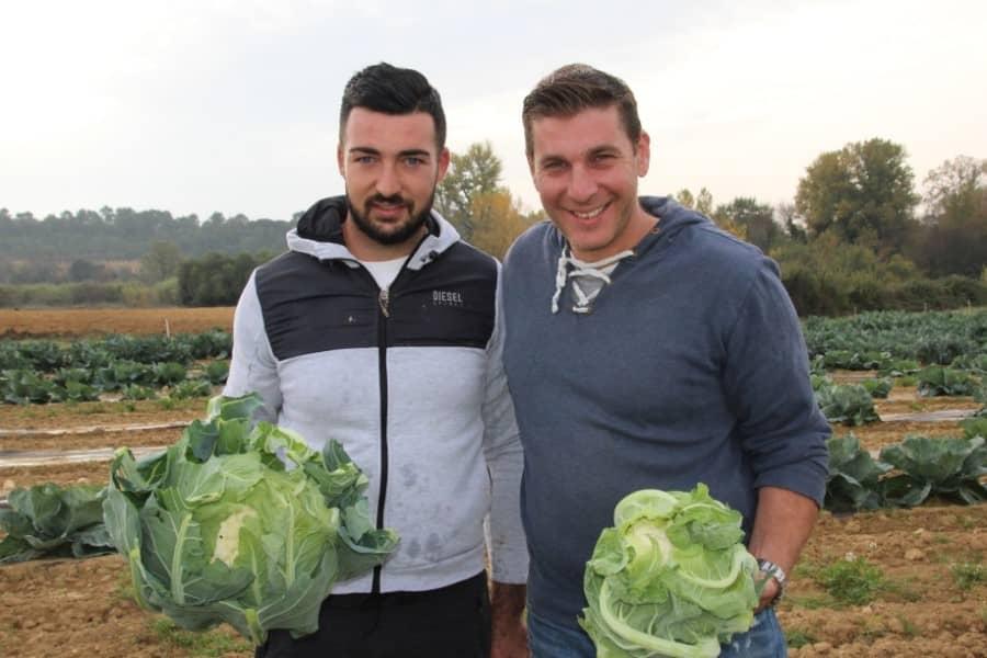 Nicolas Durand choisit les producteurs locaux